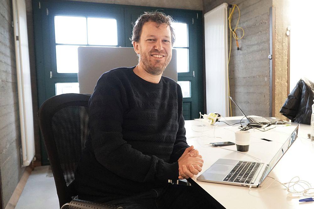 Asger Rasmussen from Klipworks at the next media accelerator