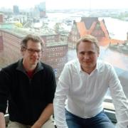 Dr. Gunnar Wrobel and Daniel Stancke from JobMatchMe